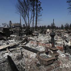 Кількість жертв лісових пожеж у Каліфорнії зросла до 40 осіб