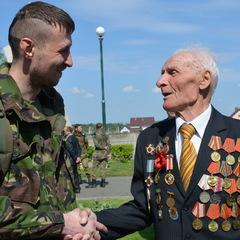 Ветерани АТО та Другої світової відзначили разом День захисника