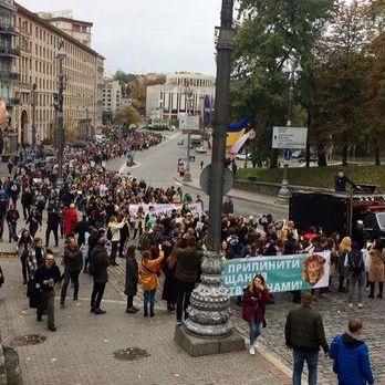 У Києві проходить Всеукраїнський марш за права тварин