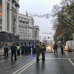 У столиці перекрито урядовий квартал, охорону посилено (фото)