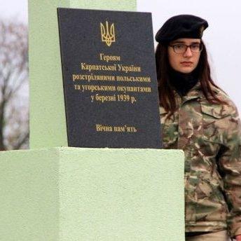 У Польщі обурені написом на пам'ятнику стріляцям Карпатської Січі в Україні