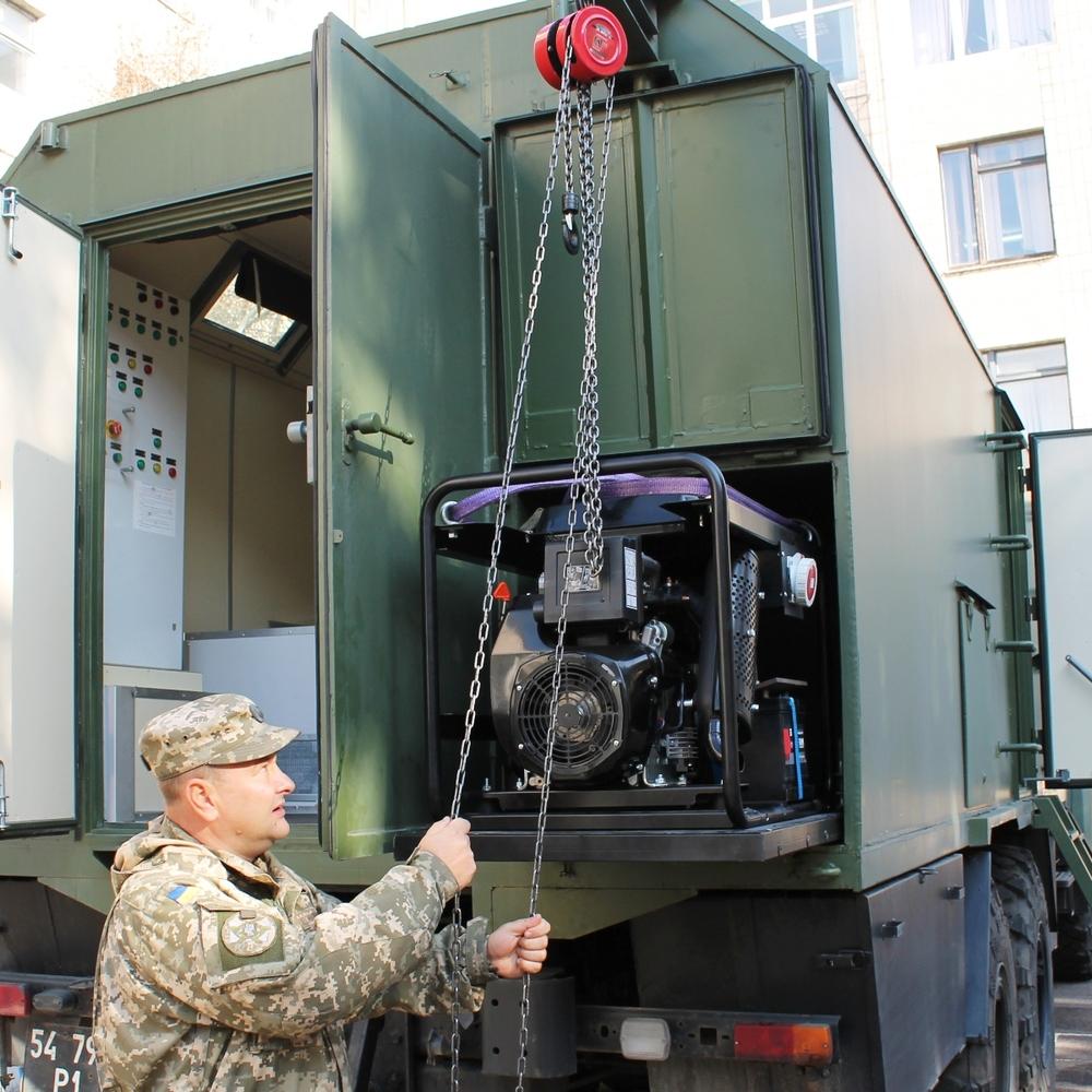 Для ЗСУ розробили новітні відеосистеми для евакуації поранених і спостереження за дронами (фото)
