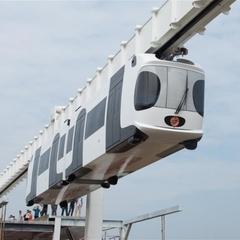 В Китаї побудують підвісну залізницю