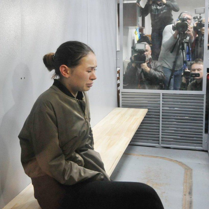 Смертельне ДТП у Харкові: Зайцева розплакалась після оголошення вердикту суду