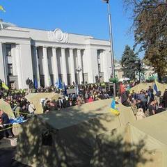 Під ВР буде два табори - цивільний та військовий