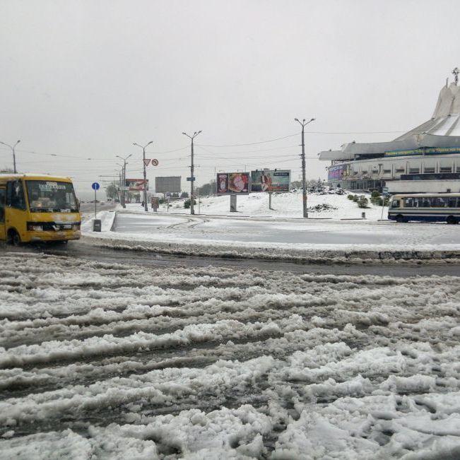 26 жовтня в Києві прогнозують дощ з мокрим снігом