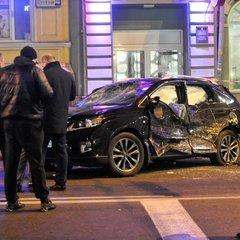 Поліція у лікарні взяла під охорону другого водія-учасника ДТП у Харкові