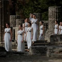 В Греції запалено олімпійський вогонь зимових Ігор-2018 (відео)