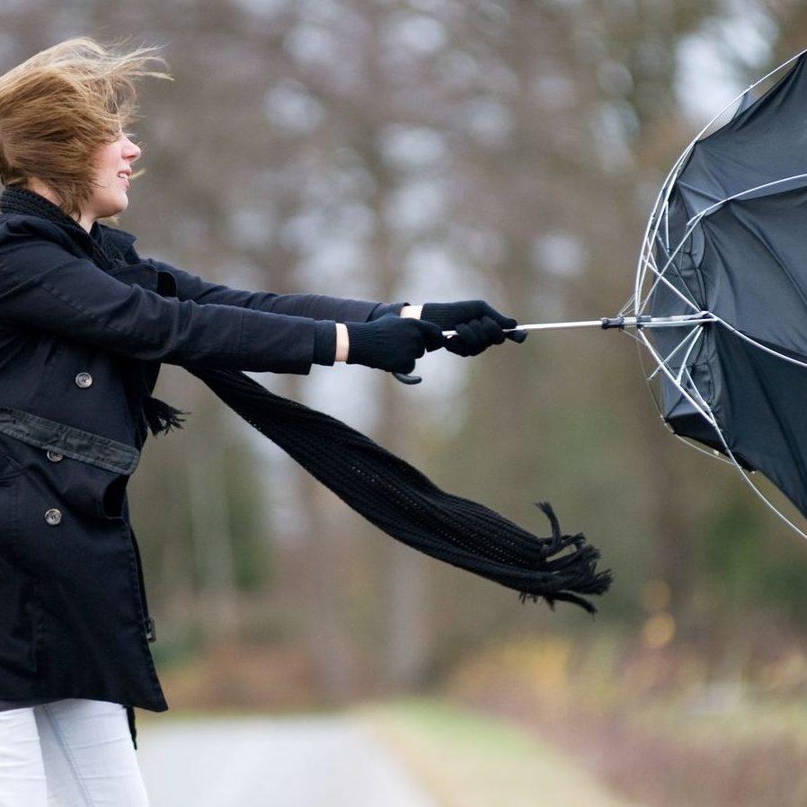 У середу, 25 жовтня, у шести областях України вируватиме сильний вітер