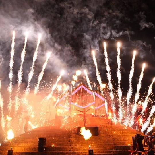 Spivoche FIRE Fest: у Києві відбудеться вогняно-піротехнічне шоу
