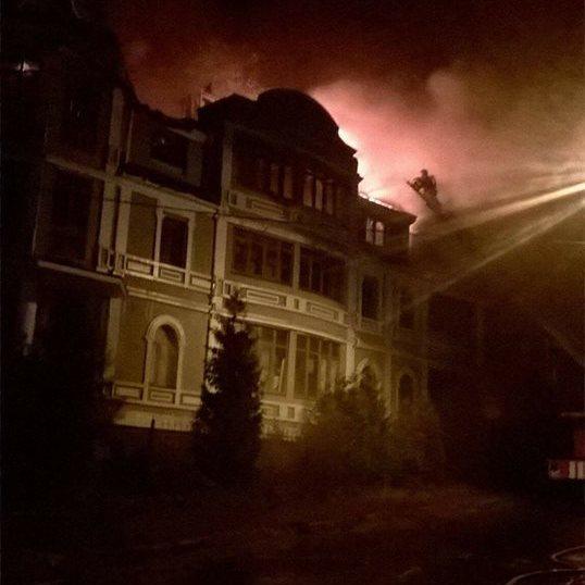 У Києві згорів гуртожиток, в якому жили переселенці з Донбасу