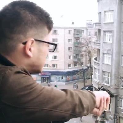У Харкові студент стріляв з квартири заради розваги, йому загрожує до 7 років тюрми (відео)