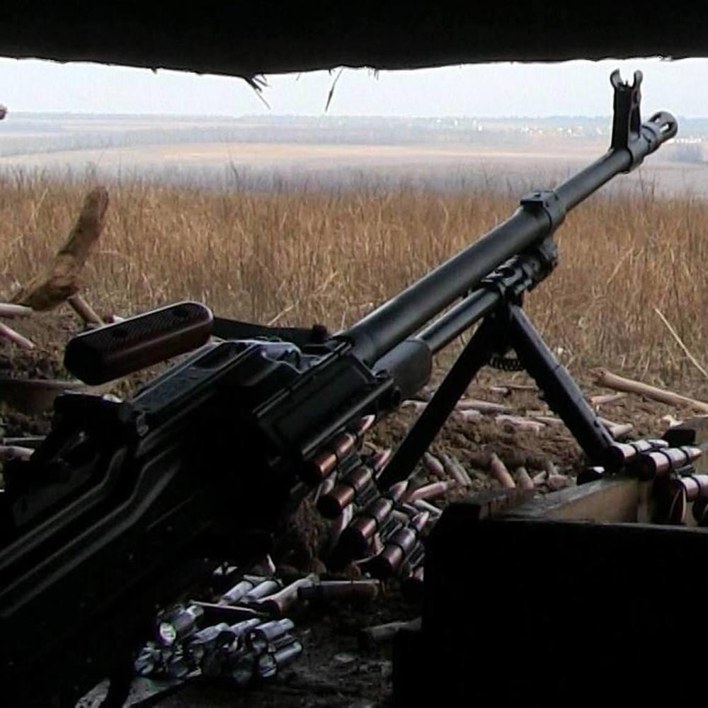 За минулу добу сили АТО 16 разів застосовували зброю на ураження противника - штаб АТО
