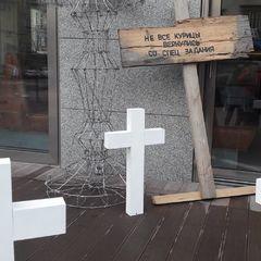 «Не всі курки повернулись зі спецзавдання»: київський ресторан дивно підготувався до Геловіну