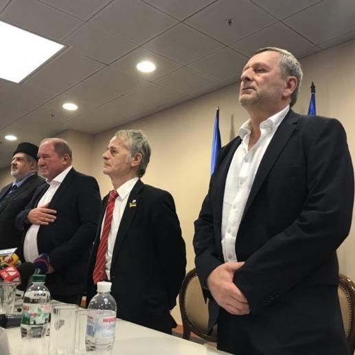 Умеров і Чийгоз прибули до Києва. Наживо