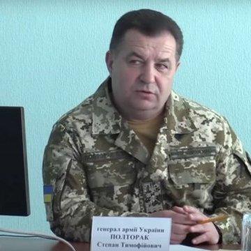 Полторак назвав причини небойових втрат в армії