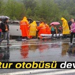 В Туреччині перевернувся автобус із туристами: є загиблі
