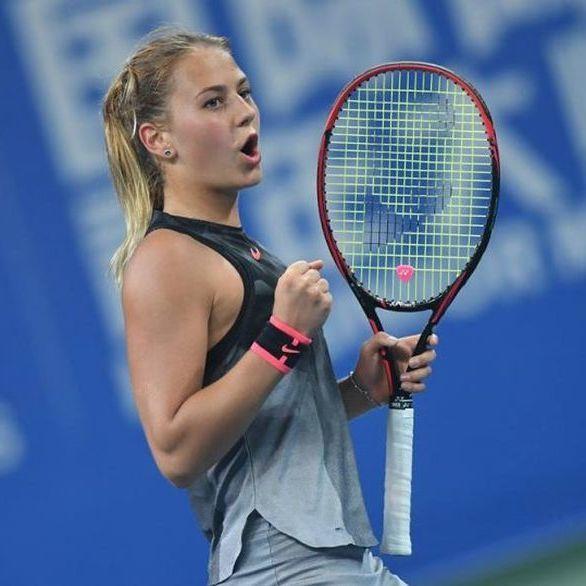 Українка перемогла на юніорському Підсумковому тенісному турнірі