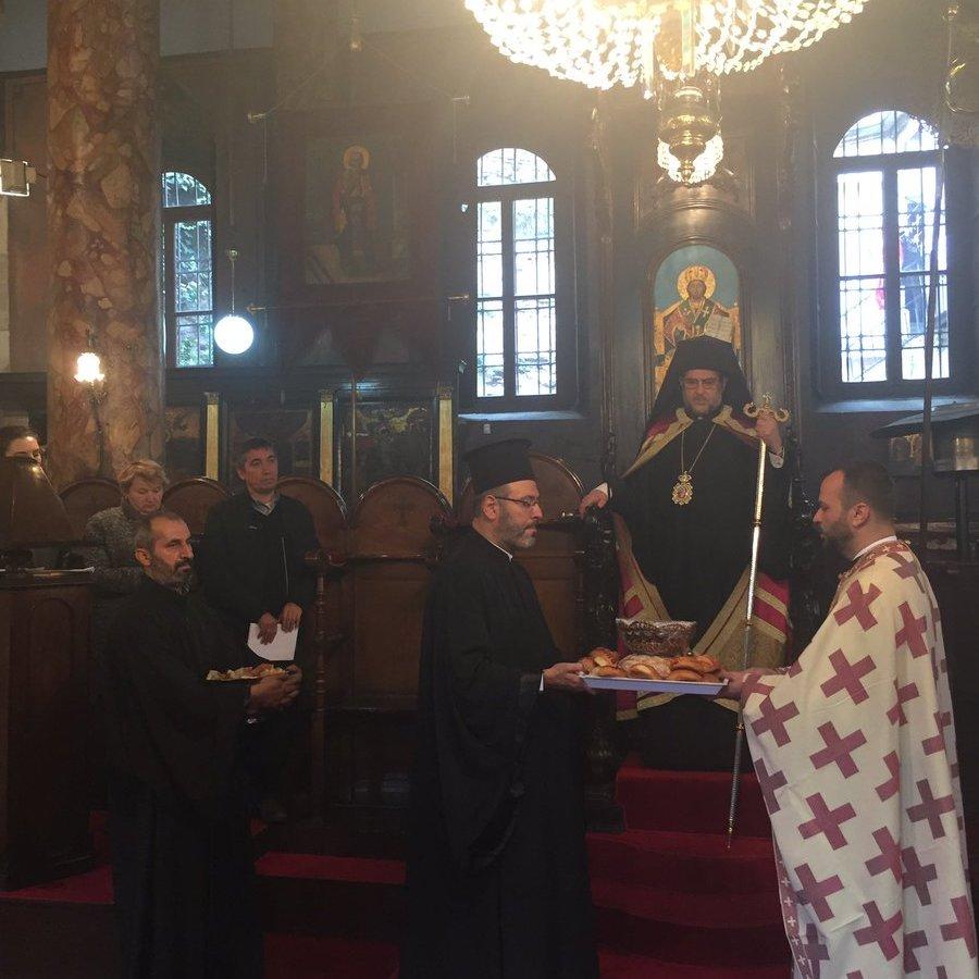 У церкві святого Миколая у Стамбулі вперше відслужили богослужіння українською мовою (фото)