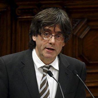 Колишній глава Каталонії Пучдемон перебуває в Брюсселі