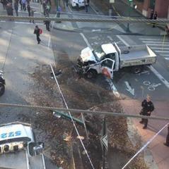 Теракт у Нью-Йорку: мер назвав офіційну кількість загиблих (фото)