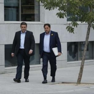 Відсторонений віце-президент Каталонії з'явився на допит у суді Мадрида