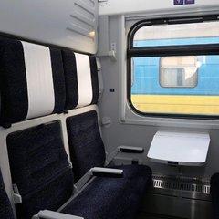 У листопаді почне курсувати потяг Київ - Запоріжжя, що складається з нових вагонів-трансформерів (фото)