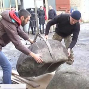 На Дніпропетровщині знайшли дві кам'яні статуї скіфської доби
