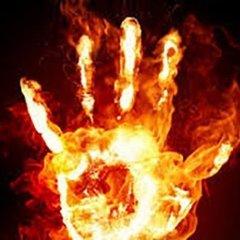 На Харківщині заживо згоріла півторарічна дитина