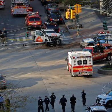 Полісмен, який зупинив вбивцю прокоментував теракт у Нью-Йорку
