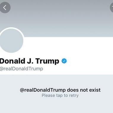 Співробітник Twitter в день свого звільнення видалив аккаунт Дональда Трампа