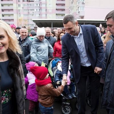 Кличко відкрив новий дитсадок на Троєщині, розрахований на 300 дітей