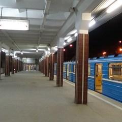 Станції підземки в святковому освітленні: метрополітен відзначає 57-річчя (фото)