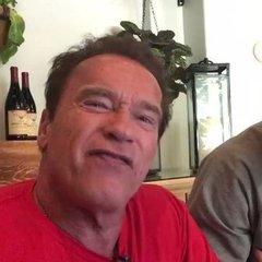 Арнольд Шварценеггер записав відеозвернення до Віталія Кличка