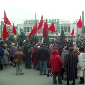 100-річчя Жовтневої революції відзначили в Одесі й Запоріжжі (фото)