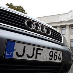 В Україні знаходиться понад 59 тисяч автомобілів з литовською реєстрацією