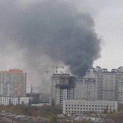 В Одесі сталася пожежа на кондитерському заводі (відео)