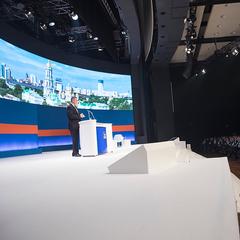 Кличко виступив на Дні німецької економіки. Київ і Україну у Франкфурті представляли як партнера Європи