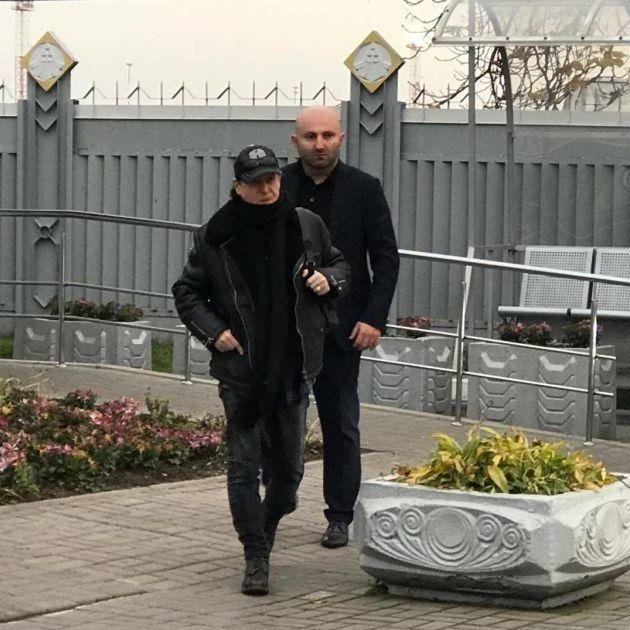 Гурт Scorpions прибув до Києва (фото)