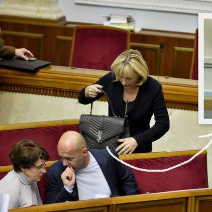 Ірина Луценко продемонструвала у ВР сумку за 74 тисячі гривень