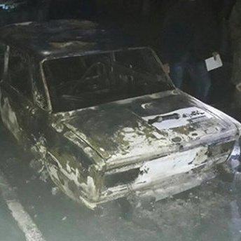 На Дніпропетровщині невідомі із гранатомета вистрілили по авто поліцейських