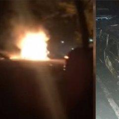 Вистріл із гранатомета по поліцейському авто на Дніпропетровщині: з'явився відеозапис інциденту