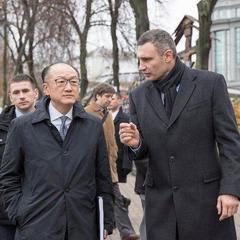 Кличко розповів голові Світового банку про запроваджену в Києві систему управління містом