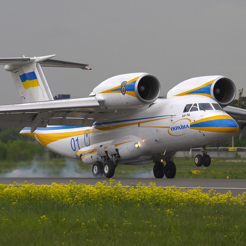 В Харкові серійно виготовлятимуть літаки Ан-74 за американські гроші