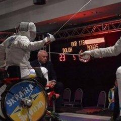 Українські паралімпійці-фехтувальники - треті у загальному заліку чемпіонату світу