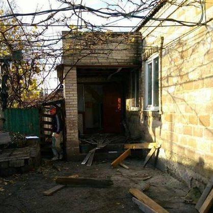 Бойовики накрили вогнем з мінометів житлові квартали Мар'їнки (фото)