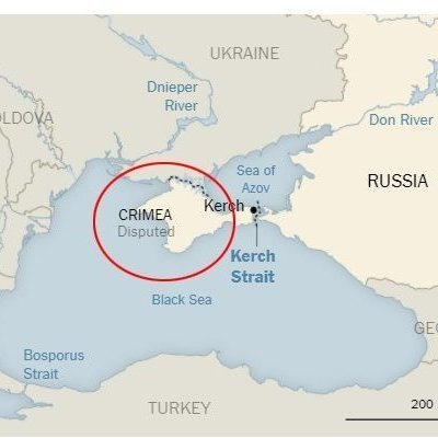 """The New York Times залишить Крим """"спірним"""""""