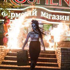 У Києві викрали активістку Femen