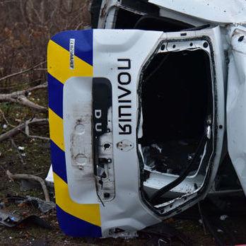 Підрив автомобіля з поліцейськими в Донецькій області кваліфікували як теракт
