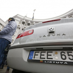 В Україні масово крадуть євробляхи - цьогоріч вкрали вже 300 авто